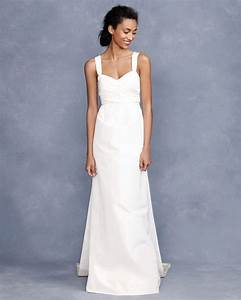 Simple white wedding dress sang maestro for White simple wedding dress