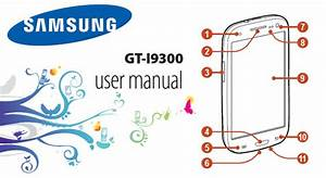Samsung Galaxy S3 Manual User Guide For Galaxy S3 Gt