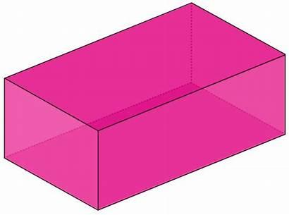 Cuboid Shape Clipart Box Shapes Cube Rectangular