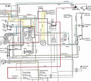 1996 Yamaha Royal Star Wiring Diagram  Harness  Auto
