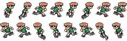 Sprites Animation Sprite Scott Walking Frames Spritesheet