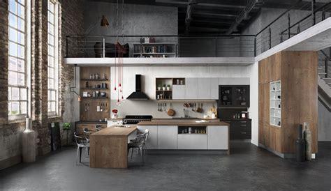 cuisine style loft cuisine équipée ouverte esprit loft modèle harmonie