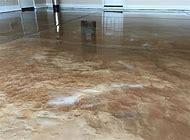 Metallic Epoxy Concrete Floor