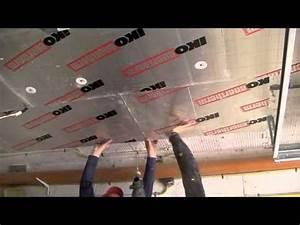 Isoler Sous Sol : isolation du plafond d 39 un garage ou d 39 une cave youtube ~ Melissatoandfro.com Idées de Décoration