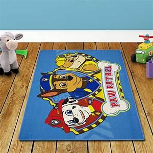 Paw Patrol Teppich : 133x95cm paw patrol kinderteppich spielteppich kinder blau teppich kinderzimmer ebay ~ A.2002-acura-tl-radio.info Haus und Dekorationen