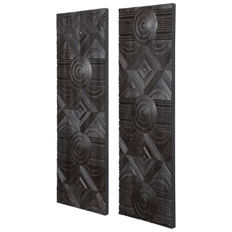 Low price guarantee, fast shipping & free. Uttermost Alternative Wall Decor Asuka Carved Wood Wall ...