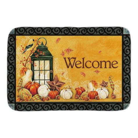 Autumn Doormat by Autumn Lantern Indoor Outdoor Doormat Fall Welcome Door
