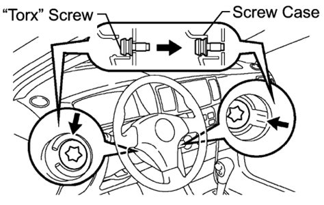 repair guides steering wheel removal installation