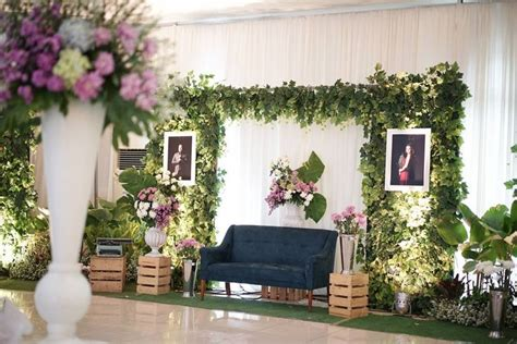 Kumpulan Dekor Pernikahan Di Rumah Disertai Gambar
