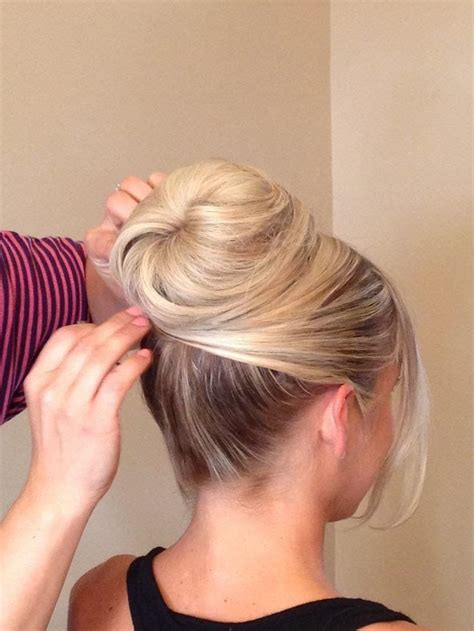 hair up styles bun best 25 classic updo hairstyles ideas on 4646