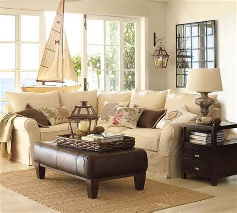 vintage living room with pottery barn furniture www