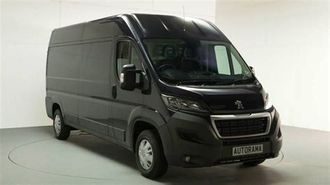 peugeot van boxer peugeot boxer van reviews from vanarama customers