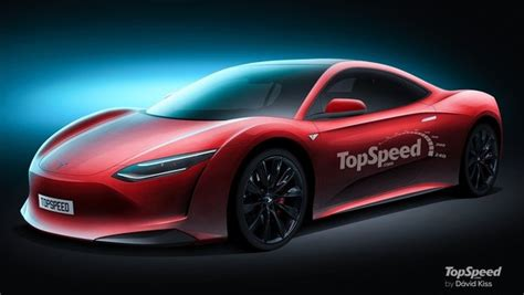 2020 Tesla Supercar Review - Top Speed