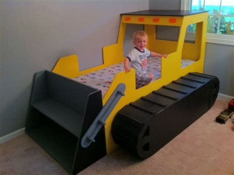 toddler trundle bed childrens bed bulldozer toddler beds modern unique