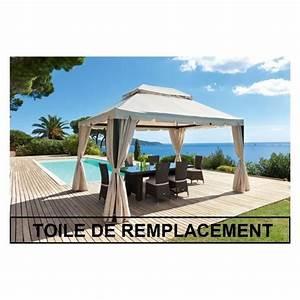 Toile De Rechange Pour Tonnelle 4x3 : toile pour tonnelle les bons plans de micromonde ~ Melissatoandfro.com Idées de Décoration
