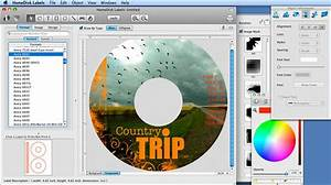 homedisk label for mac is a cd dvd disc label design software With disc label software