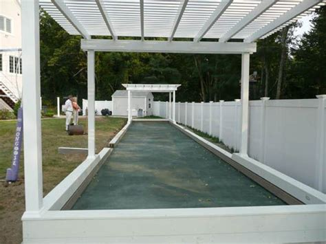Backyard Bocce Court Dimensions by Best 25 Bocce Court Ideas On Bocce Court