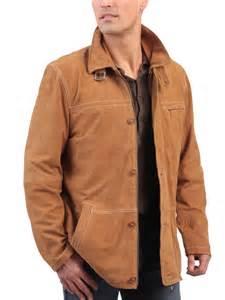 Veste En Daim Homme : veste daim cognac la canadienne veste courte cuir cognac ~ Nature-et-papiers.com Idées de Décoration