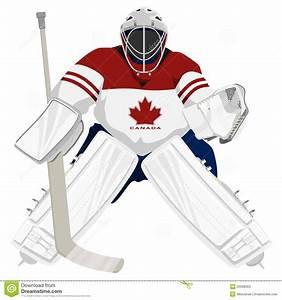 Ice Hockey Goalie Clipart - Clipart Suggest