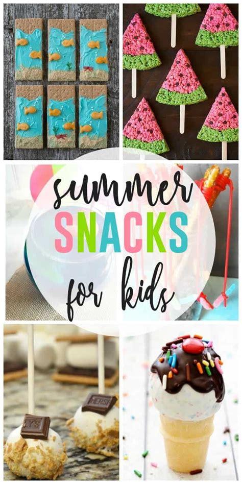 summer snacks  kids  girl  ate