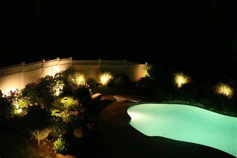 outdoor lighting around pool artistic landscapes com blog andover ma landscape