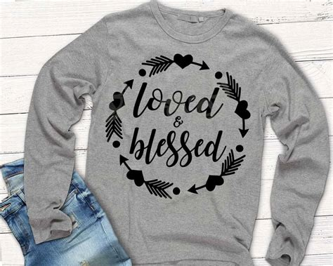 loved  blessed svg shirt svg thanksgiving svg tribal etsy
