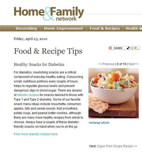 article cuisine healthy snacks recipes for diabetics