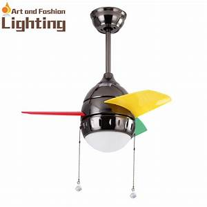 Cute kids room ceiling fan with lights mini inches fans