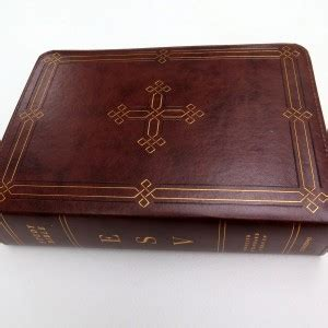 Esv Study Bible Cowhide by Esv Study Bibles Evangelicalbible
