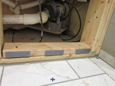 how to build a simple access panel door for motor access