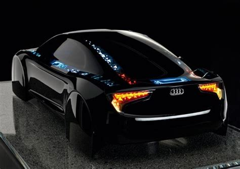 new light technology audi shows oled illuminated concept r8 the register