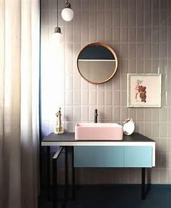 Meuble Vasque Sur Pied : meuble rangement salle de bain les solutions d co qui nous font craquer ~ Teatrodelosmanantiales.com Idées de Décoration