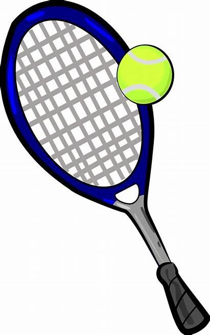 Tennis Racket Ball Rackets Clipart Craft Printable