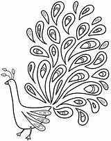 Peacock Coloring Pages Rocks Printable Adult Grayed Printables sketch template