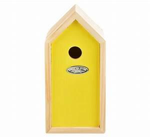 Nistkasten Für Blaumeisen : vogelhaus f r blaumeisen nistkasten holz gelb nistk sten vogelh user garten zeitzone shop ~ Orissabook.com Haus und Dekorationen