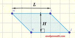 calculate areas  squares rectangles triangles