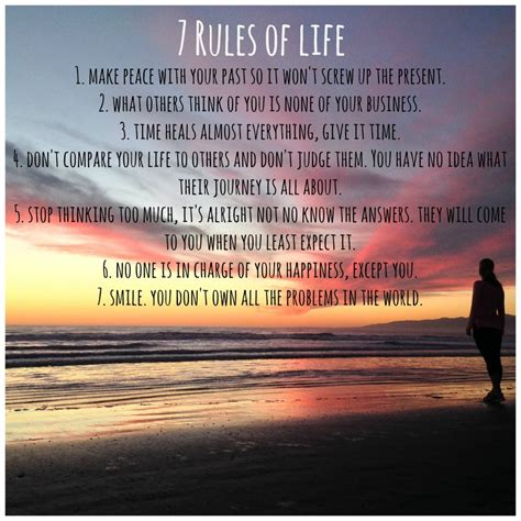 7 Rules Of Life  Health Gypsy