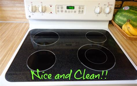 how to clean a stove top how to clean a smooth stovetop