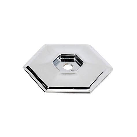 Cabinet Knob Backplate Chrome by Alno Creations Shop A425 Pc Knob Backplate Polished