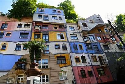 Hundertwasser Buildings Austria Travel Filed Uncategorized July