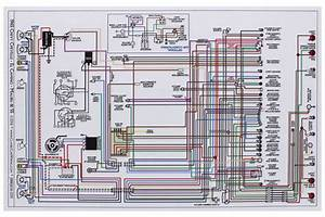 Wiring Diagram  1965 Chevelle  El Camino  11x17  Color