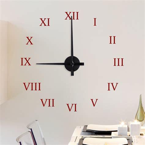 Uhr Mit Zahlen by Uhr Mit Zahlen Wandtattoo Uhr Mit Zahlen Bei Wandtattoo