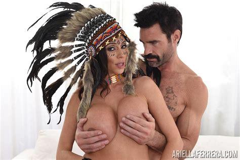 Hot Native American Slut Ariella Ferrera Is Nailed
