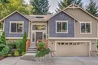split level homes Spacious Split Level Home Plan - 23442JD | Architectural ...