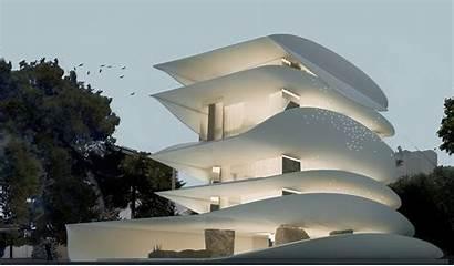 Architecture Studio Organic Greek Pavlos Curves Define