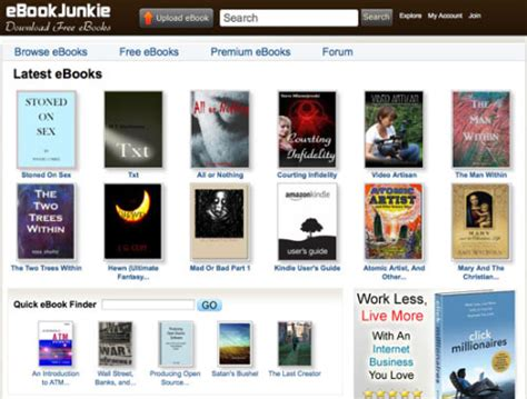 10 Cool Websites To Download Free Ebooks