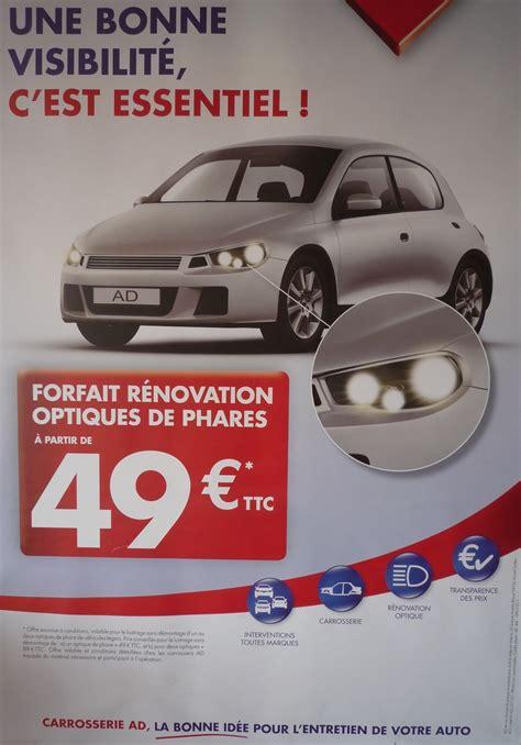 Forfait Rénovation Optique De Phare  Carrosserie Brunet