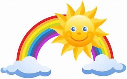 Sun Fairy Colorful Sweetheart Rainbow Cartoon Tale