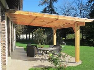Fabriquer Pergola Bois : pergola murale bois x m couverture polycarbonate 16mm pergola murale ~ Preciouscoupons.com Idées de Décoration