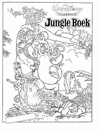 Jungle Coloring Printable Kleurplaat Kleurplaten Books Pdf